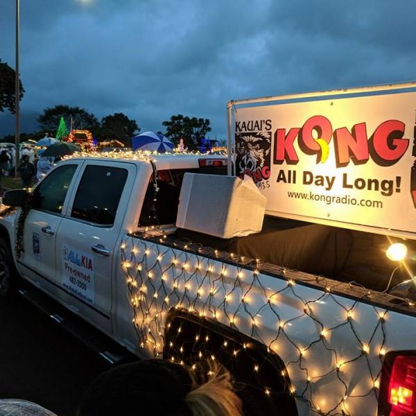 Aloha Kia KONG holiday Truck